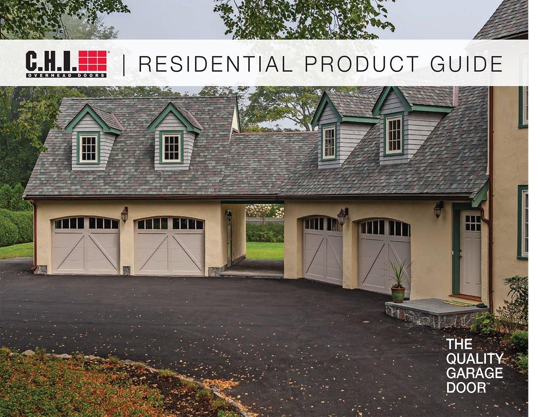 garage door residential product guide